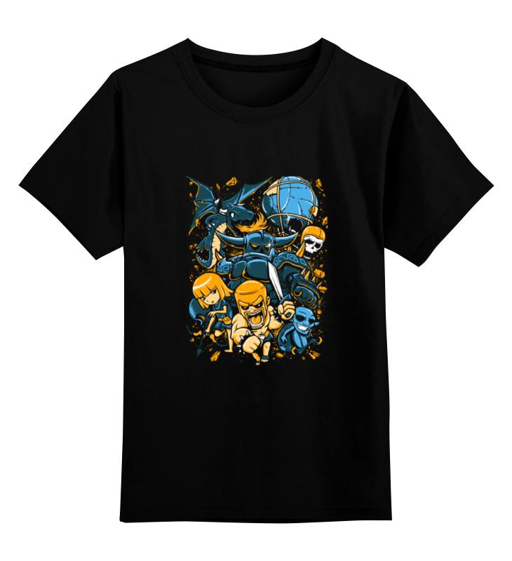 Детская футболка классическая унисекс Printio Clash of сlans детская футболка классическая унисекс printio clash royale