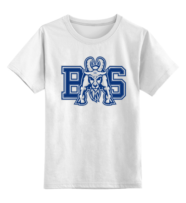 Детская футболка классическая унисекс Printio Реальные парни (blue mountain state) bms хлебопечь supra bms 158 белый bms 158 белый