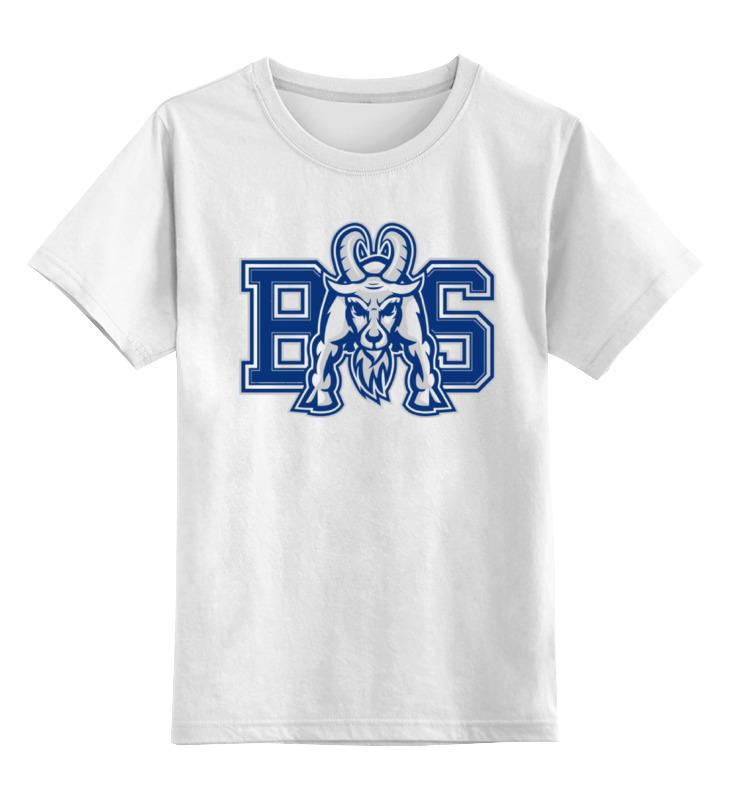 Детская футболка классическая унисекс Printio Реальные парни (blue mountain state) bms футболка mountain