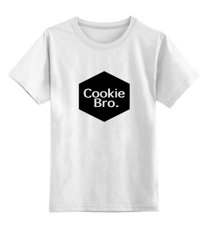 Детская футболка классическая унисекс Printio Cookie bro. graceful rhinestone necklace for women