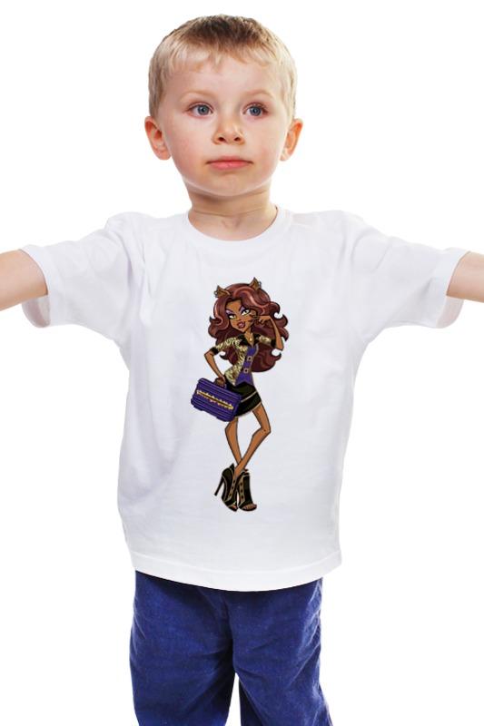 Детская футболка классическая унисекс Printio Монстер хай куклы монстер хай катрин демяу наложенным платежом