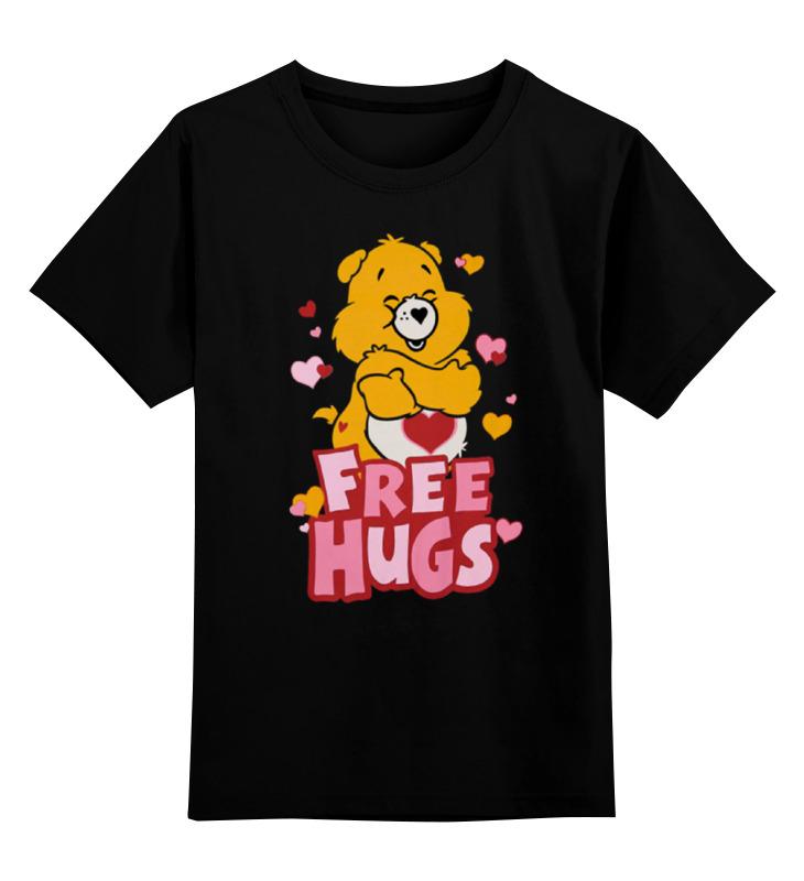 Детская футболка классическая унисекс Printio Free hugs