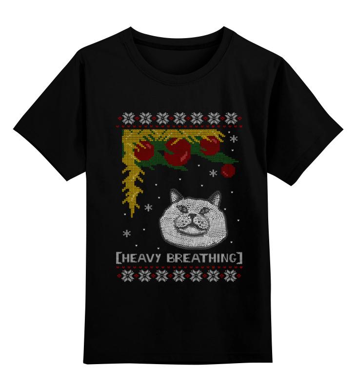 Детская футболка классическая унисекс Printio Кот на новый год футболка классическая printio новый год кот в шапке