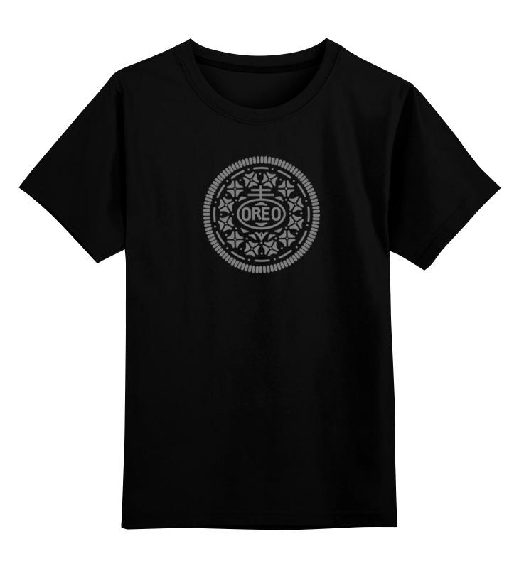Детская футболка классическая унисекс Printio Печенье орео / oreo cookies садово парковый светильник sirius 4690389017407 elektrostandard 1183814