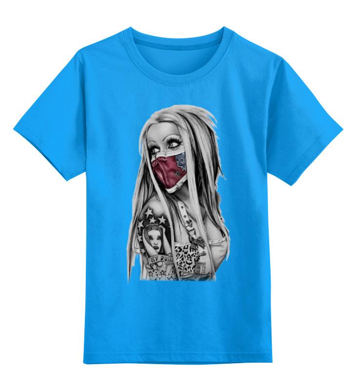 Детская футболка классическая унисекс Printio Girl детская футболка классическая унисекс printio tank girl