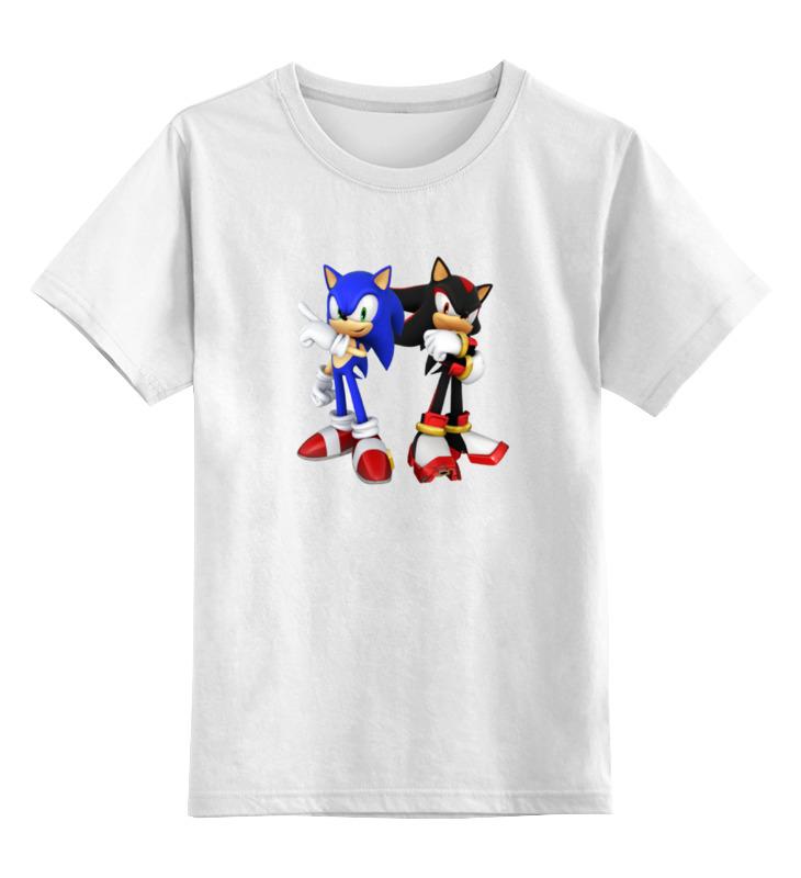 Детская футболка классическая унисекс Printio Sonic x футболка классическая printio sonic dance