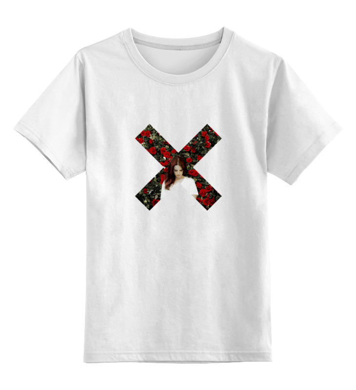 цена на Детская футболка классическая унисекс Printio Lana del rey honeymoon
