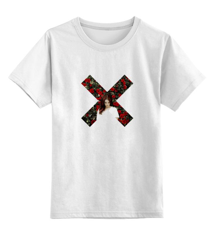 Детская футболка классическая унисекс Printio Lana del rey honeymoon sandra field honeymoon for three