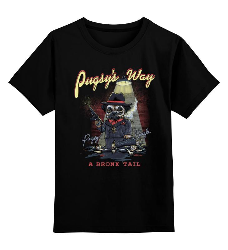 Printio Мопс гангстер детская футболка классическая унисекс printio гангстер gangster