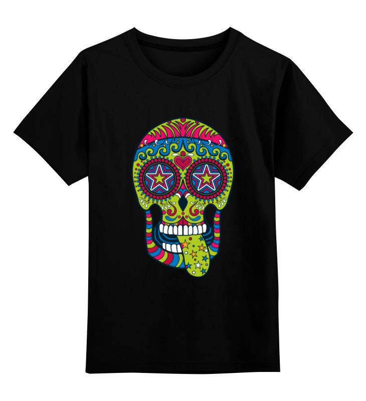 Детская футболка классическая унисекс Printio Череп рок-н-ролл иддк рок н ролл клифф ричард