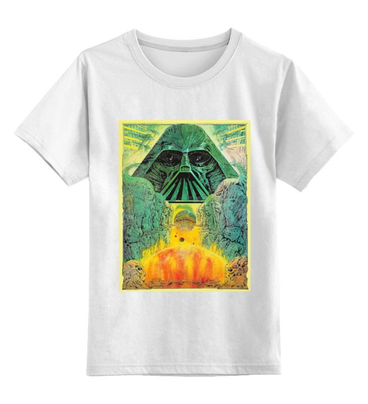 Детская футболка классическая унисекс Printio Darth vader - ацтек сумка printio darth vader ацтек