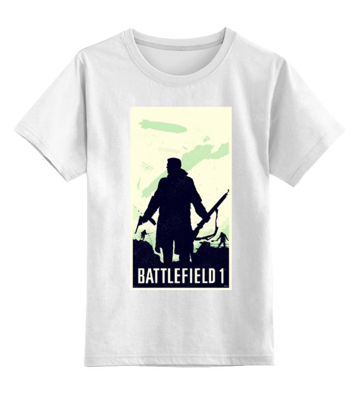 Детская футболка классическая унисекс Printio Battlefield 1 детский дартс battlefield soft 7 2cm