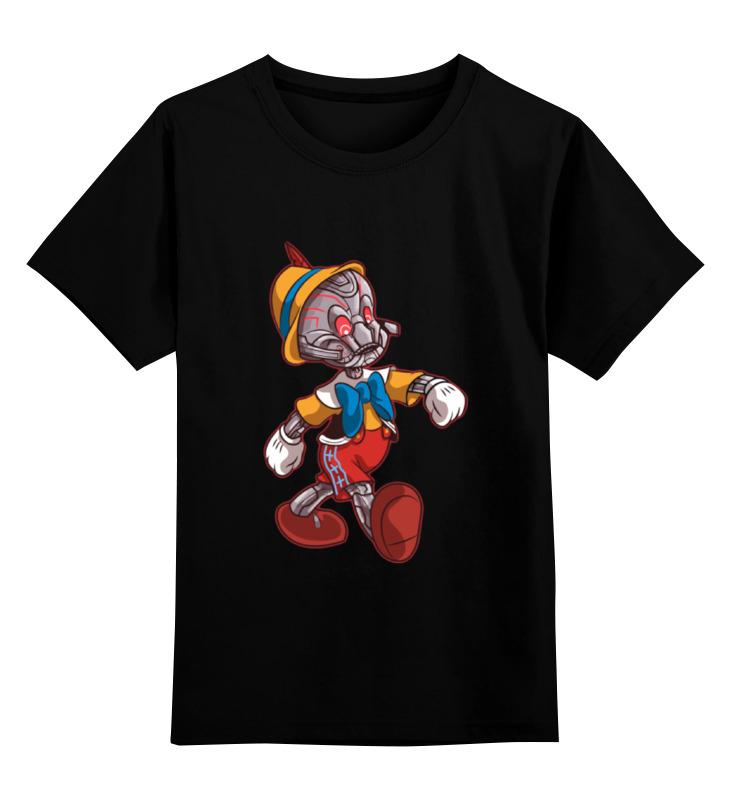 Детская футболка классическая унисекс Printio Альтрон пиноккио