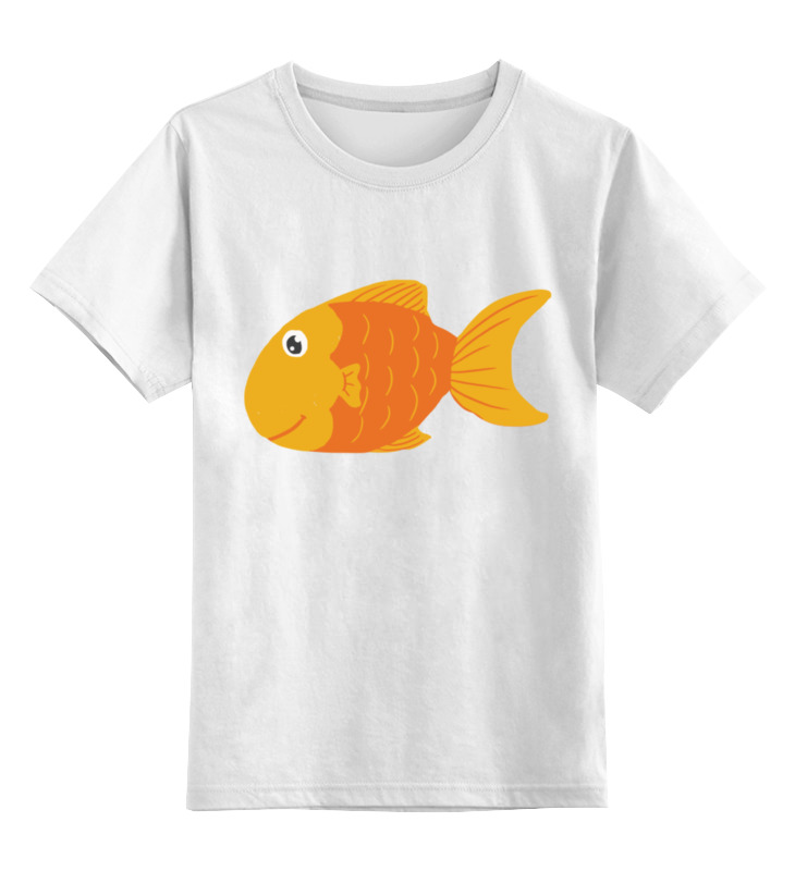 Детская футболка классическая унисекс Printio Золотая рыбка детская футболка классическая унисекс printio золотая ухмылка