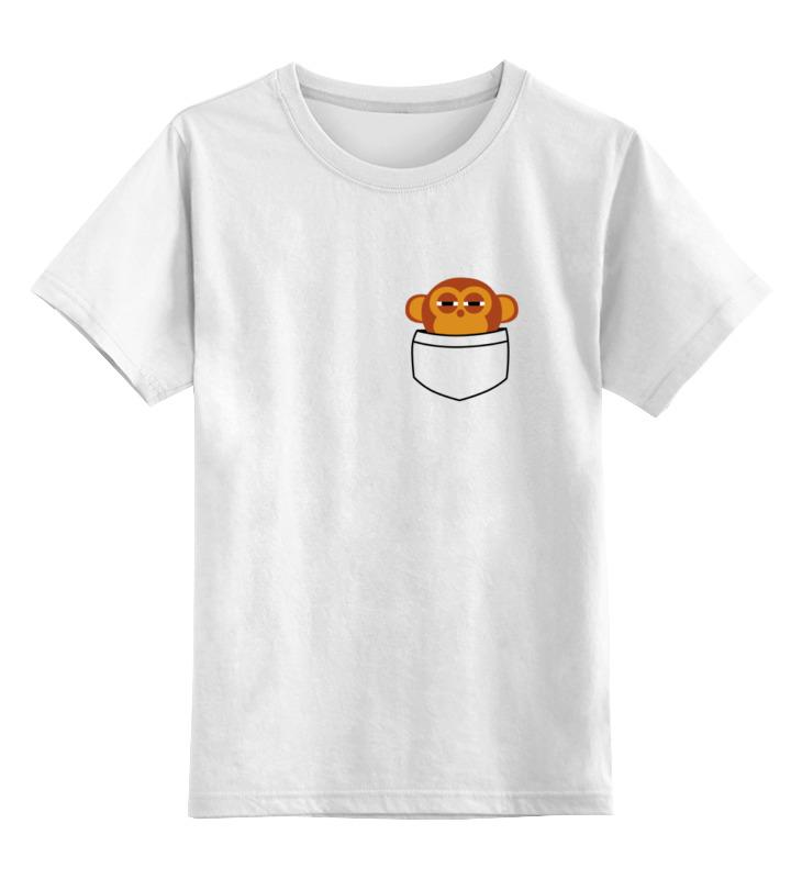Детская футболка классическая унисекс Printio 2016 год обезьяны дрешер в человекообразные обезьяны