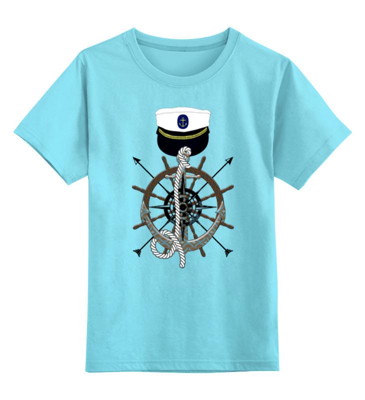 Детская футболка классическая унисекс Printio 7 футов под килем бильярд браво 7 футов