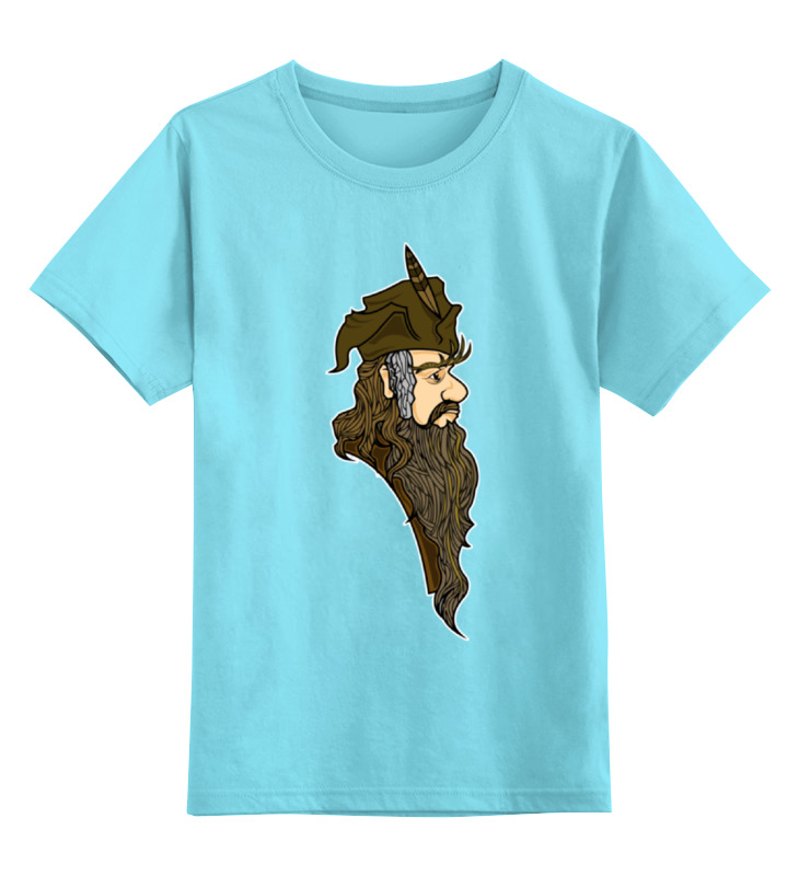 Детская футболка классическая унисекс Printio Радагаст карий (radagast the brown) футболка toy machine leopard brown