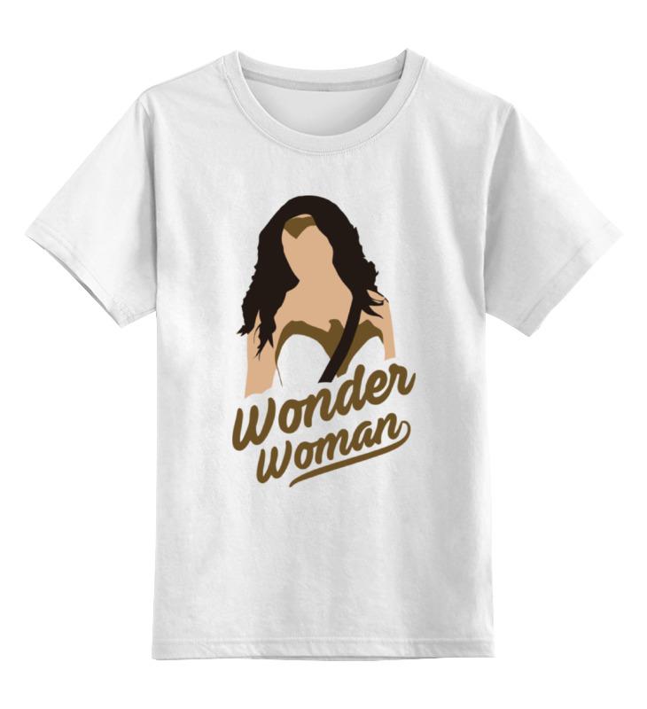 Детская футболка классическая унисекс Printio Чудо-женщина (wonder woman) футболка классическая printio чудо женщина wonder woman