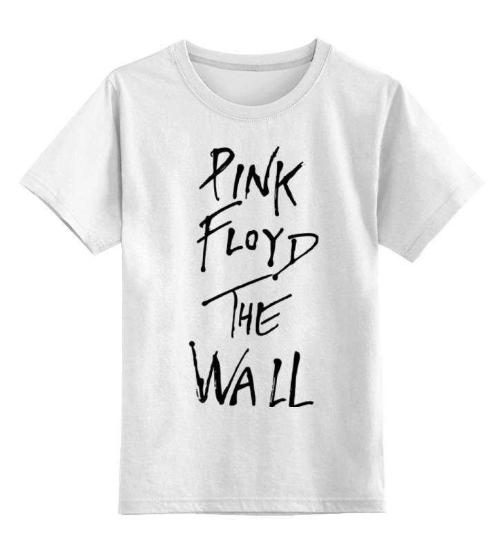 цена на Детская футболка классическая унисекс Printio Pink floyd, the wall