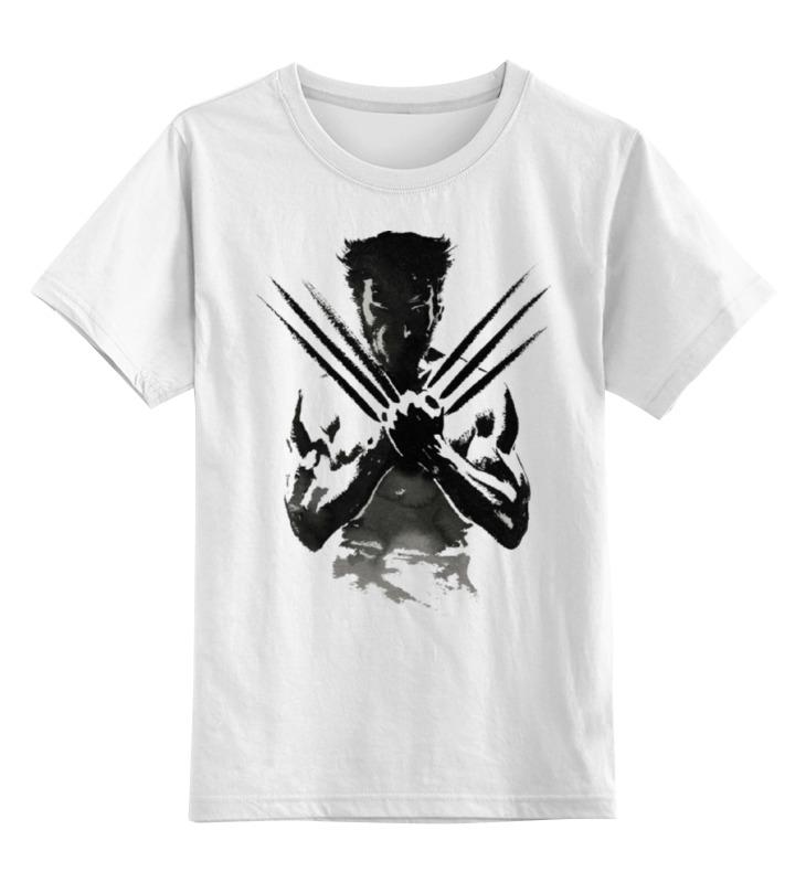 Детская футболка классическая унисекс Printio Росомаха (wolverine) детская футболка классическая унисекс printio x men wolverine