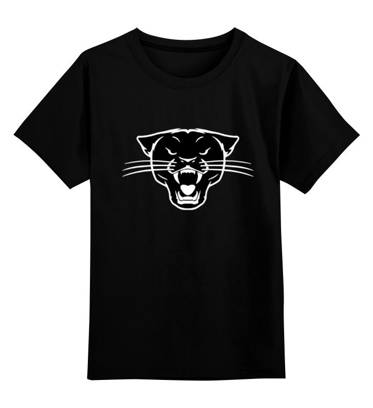 Детская футболка классическая унисекс Printio Черная пантера (black panther) футболка черная детская без рисунка
