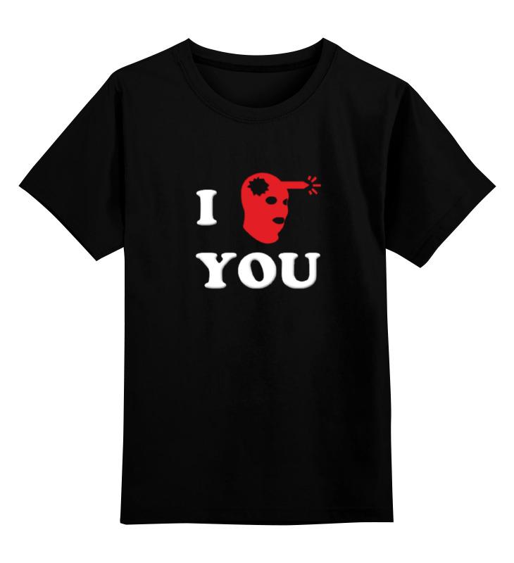Детская футболка классическая унисекс Printio I headshot you counter ct6s i