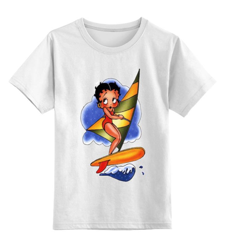 Детская футболка классическая унисекс Printio Бетти буп футболка wearcraft premium printio бетти буп betty boop