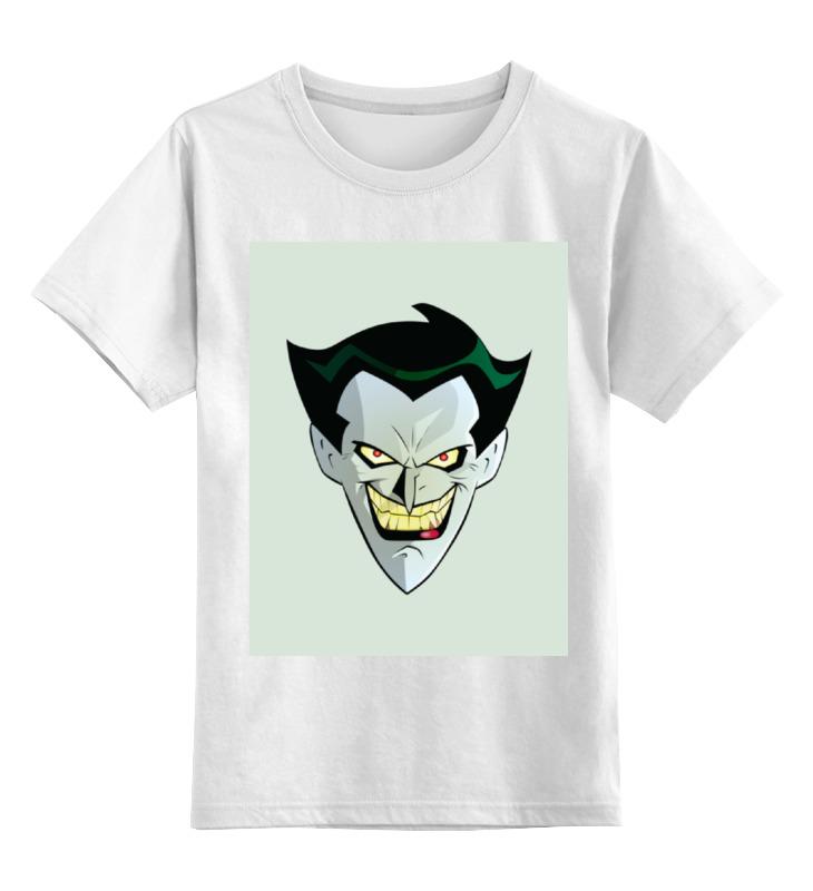 Детская футболка классическая унисекс Printio Джокер лонгслив printio spike and twilight sparkle