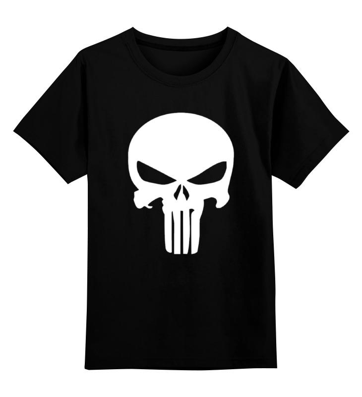 Детская футболка классическая унисекс Printio The punisher детская футболка классическая унисекс printio the cure wish