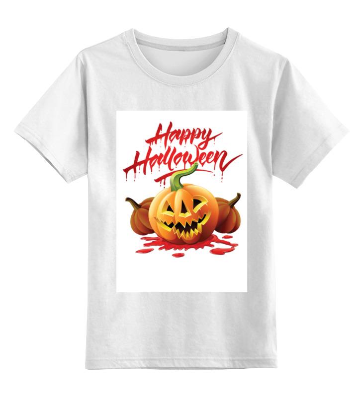 Детская футболка классическая унисекс Printio Ночь хеллоуина