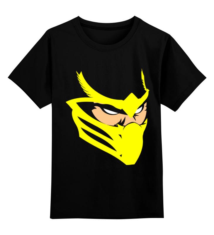 Printio Скорпион (мортал комбат) детская футболка классическая унисекс printio скорпион