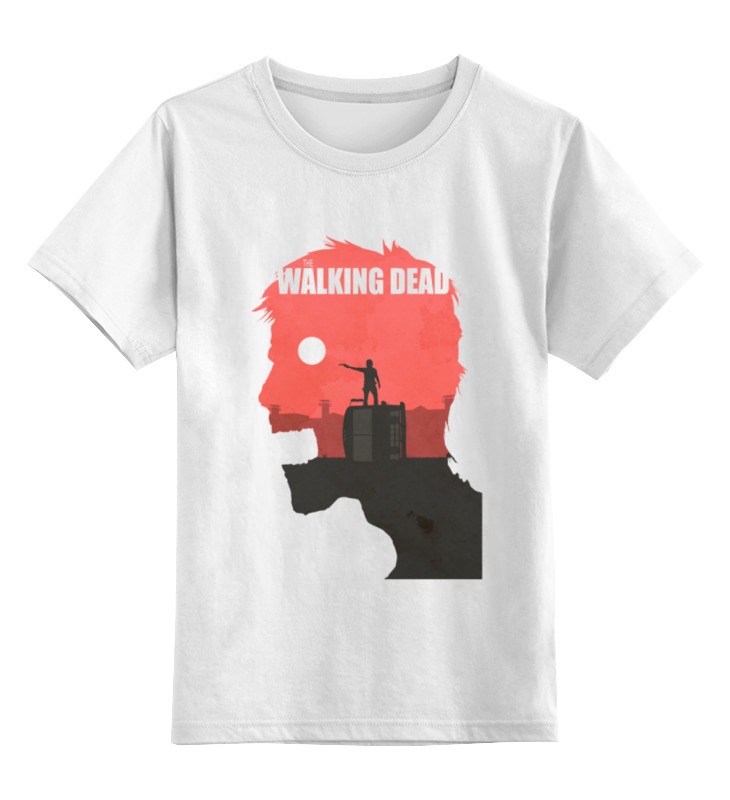 Детская футболка классическая унисекс Printio The walking dead футболка классическая printio the black keys