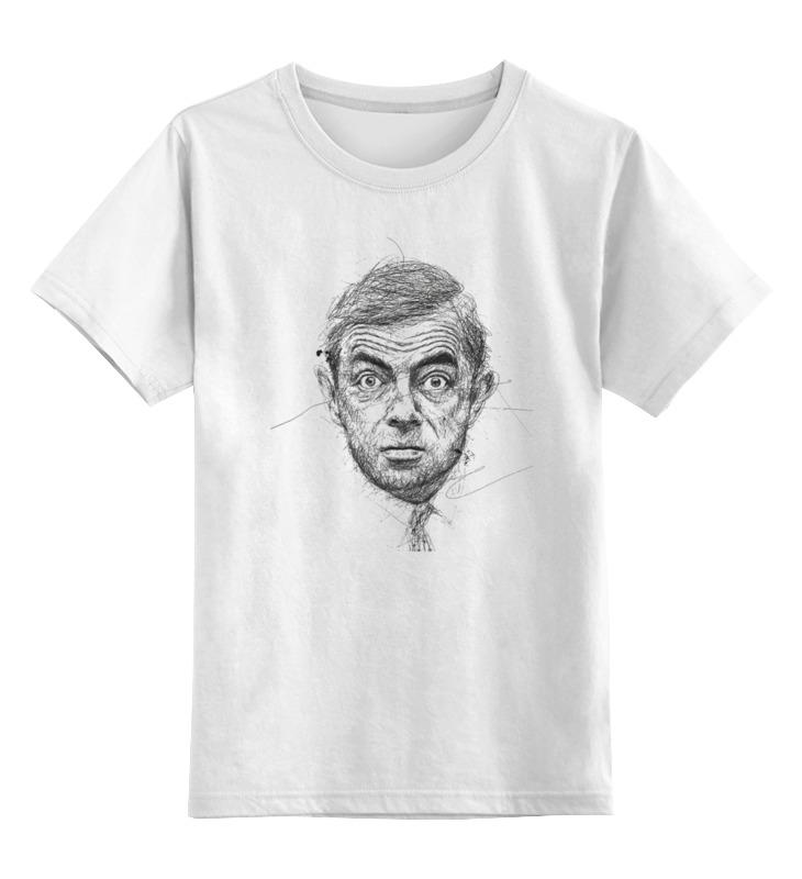 Детская футболка классическая унисекс Printio Роуэн аткинсон кейт аткинсон музей моих тайн