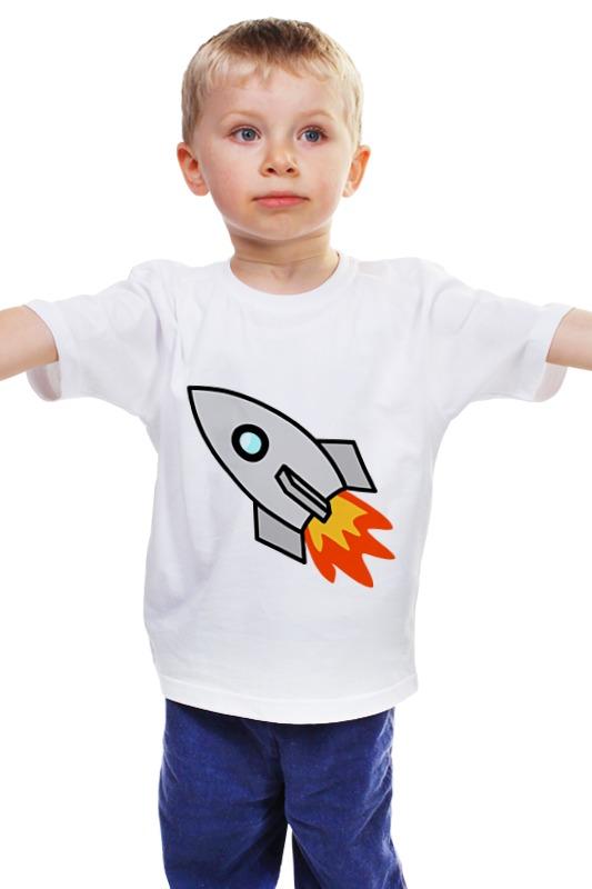 Детская футболка классическая унисекс Printio Ракета 2 детская футболка классическая унисекс printio 62 2% в саратове