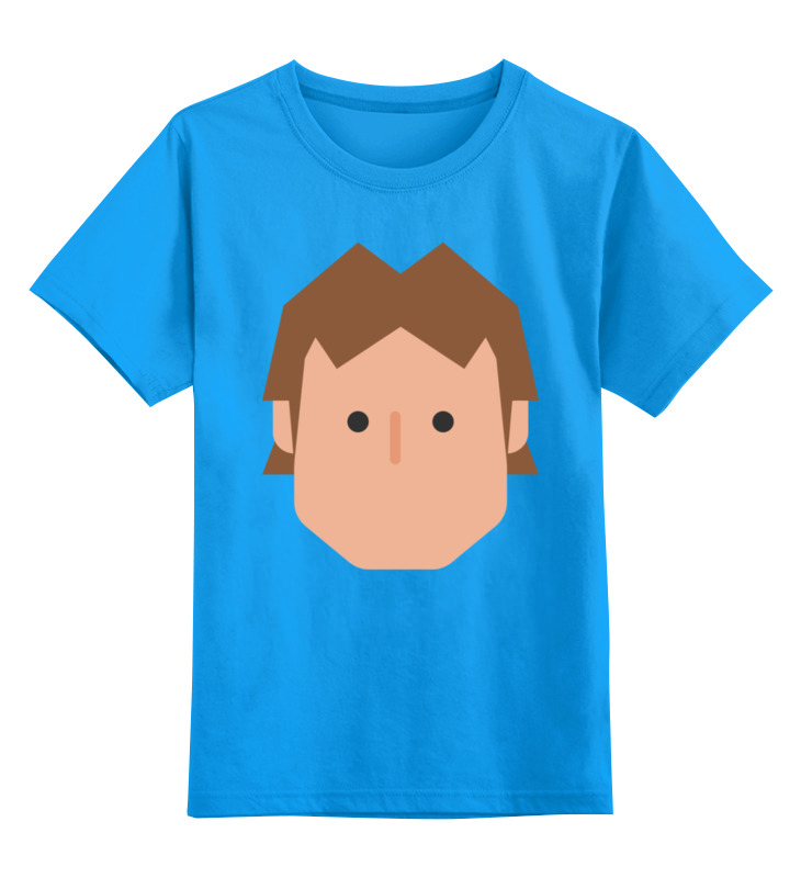 Детская футболка классическая унисекс Printio Хан соло детская футболка классическая унисекс printio хан соло