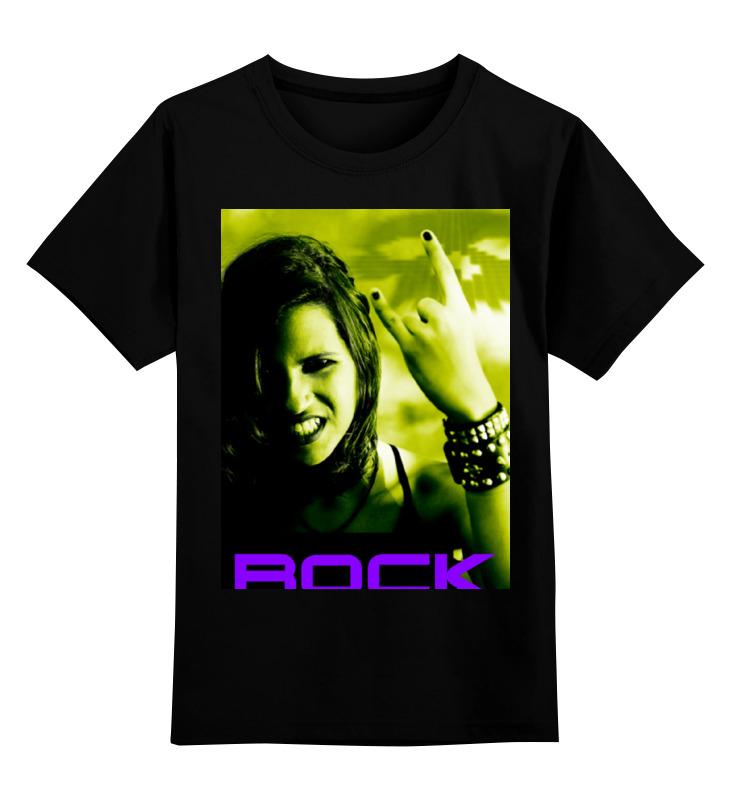 Детская футболка классическая унисекс Printio Rock - 1 детская футболка классическая унисекс printio rock and roll
