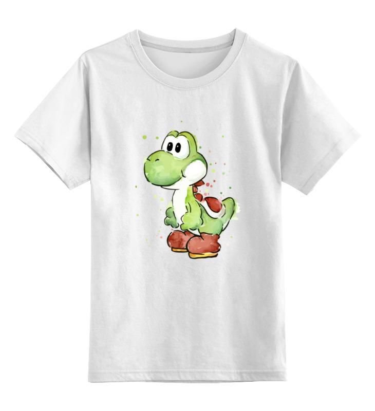 Детская футболка классическая унисекс Printio Yoshi