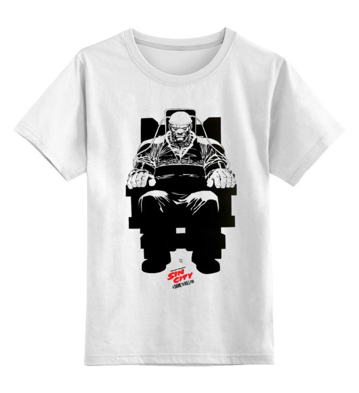 цена на Детская футболка классическая унисекс Printio Sin city / город грехов