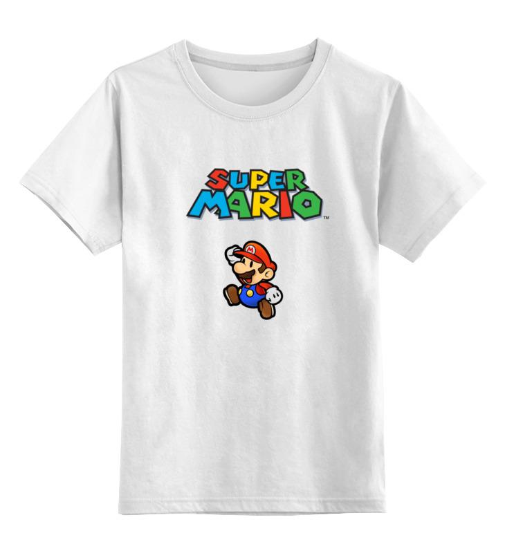 Детская футболка классическая унисекс Printio Super mario haba детская шкатулка супер герой