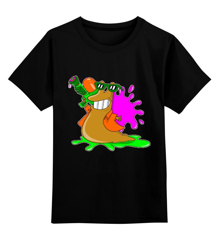 купить Детская футболка классическая унисекс Printio Слизень по цене 1450 рублей