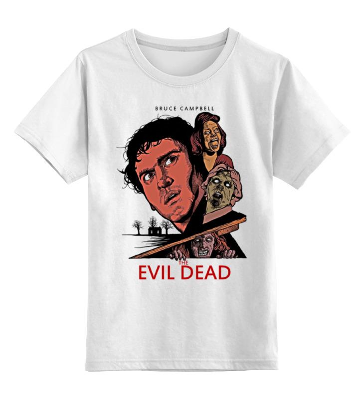 Детская футболка классическая унисекс Printio Evil dead детская футболка классическая унисекс printio resident evil 6