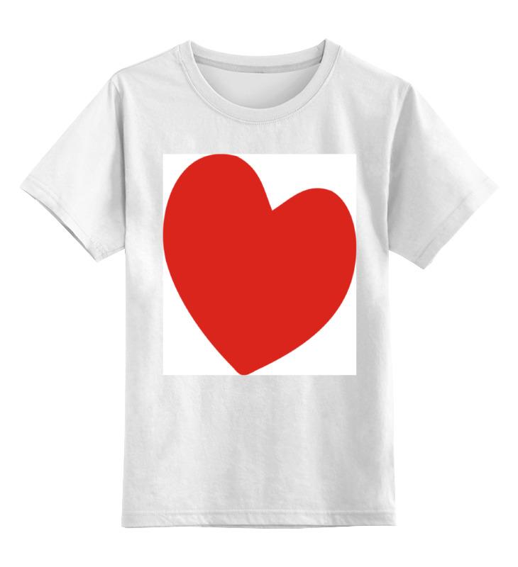 Printio Алое сердце детская футболка классическая унисекс printio джойстик и сердце
