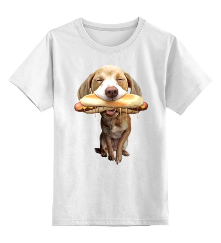 Детская футболка классическая унисекс Printio Хот-дог детская футболка классическая унисекс printio gta 5 dog