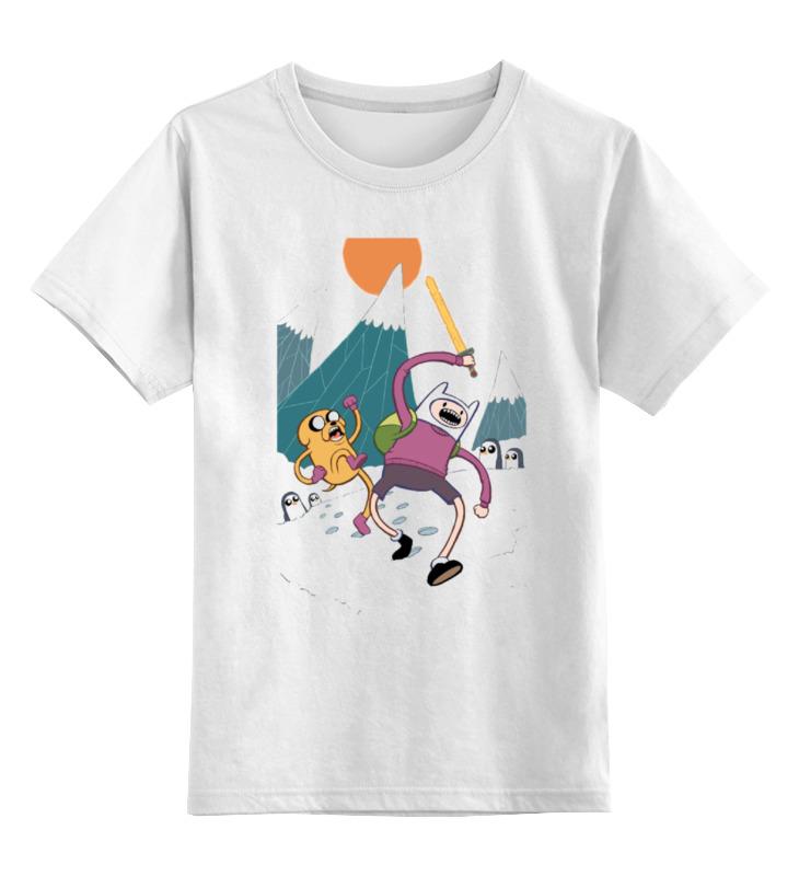 Детская футболка классическая унисекс Printio Adventure time детская футболка классическая унисекс printio финн и джейк adventure time