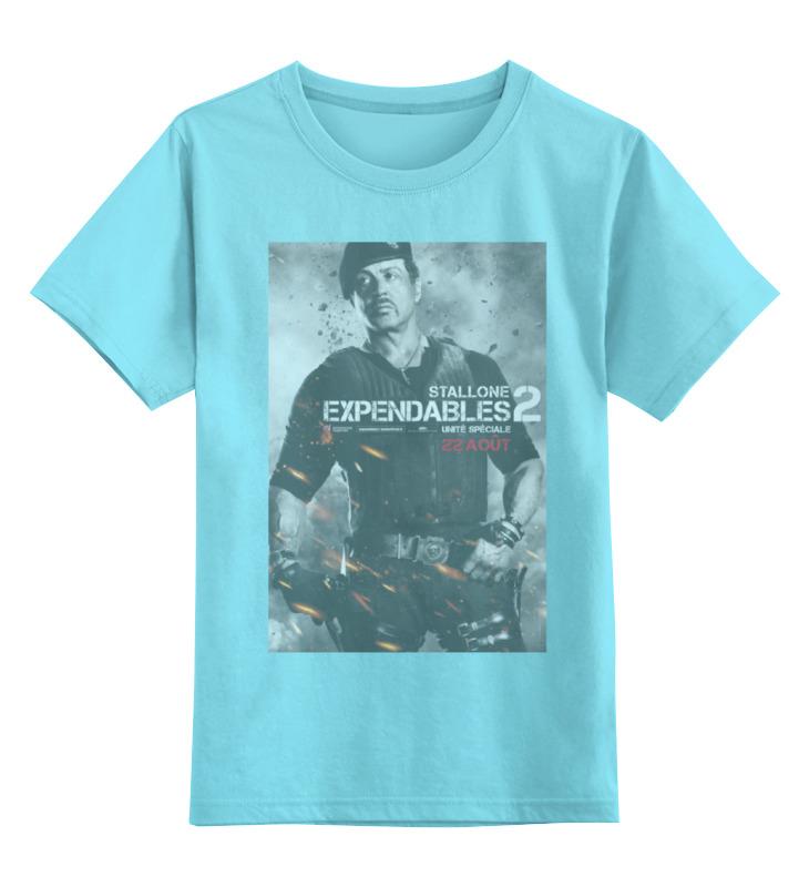 Детская футболка классическая унисекс Printio Expendables ii stallone детская футболка классическая унисекс printio 62 2% в саратове