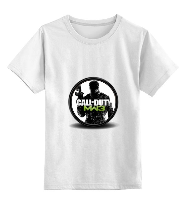 Детская футболка классическая унисекс Printio Call of duty детская футболка классическая унисекс printio call of duty ghosts
