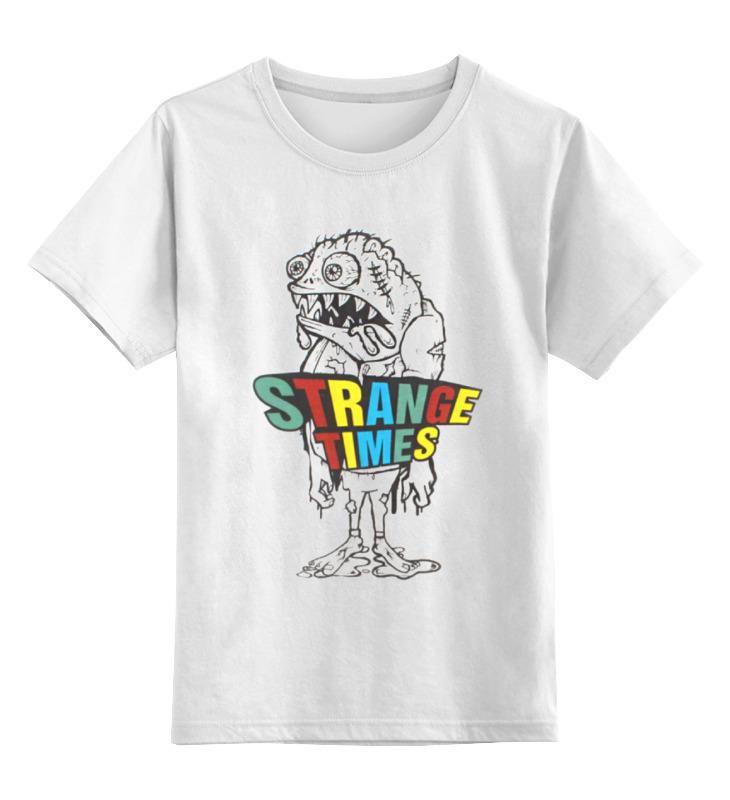 Детская футболка классическая унисекс Printio Strange times goon tothestars косметика детская goon