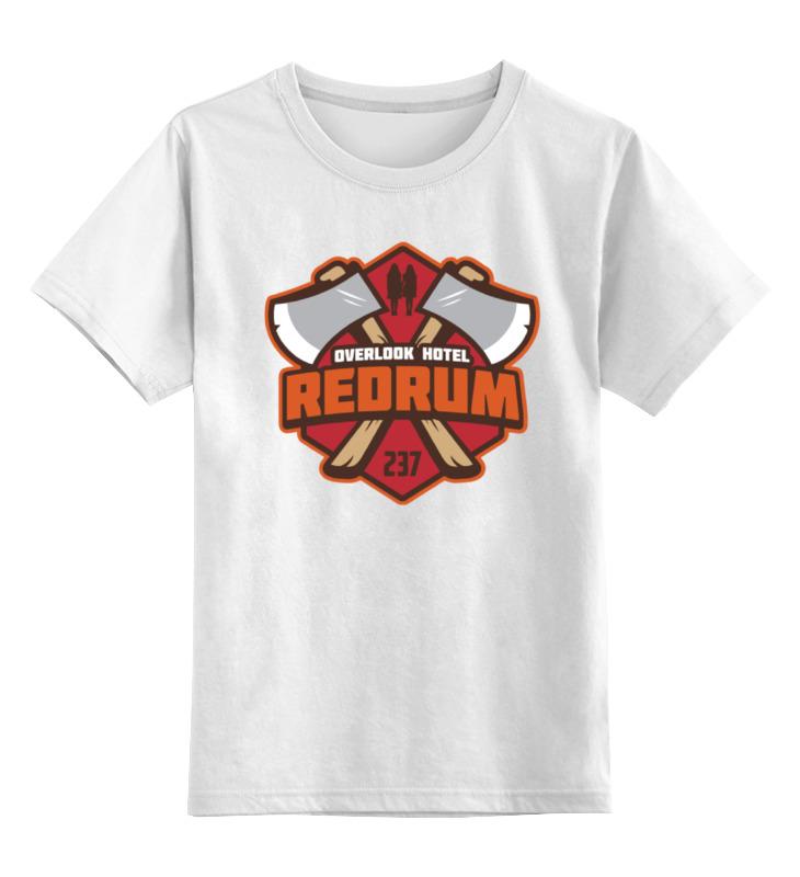 Детская футболка классическая унисекс Printio Редрам детская футболка классическая унисекс printio наше всё