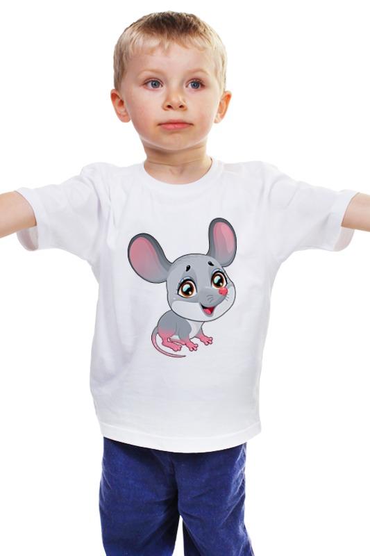 Детская футболка классическая унисекс Printio Мышонок детская футболка классическая унисекс printio мачете