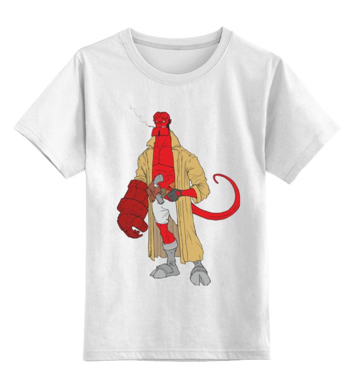 Детская футболка классическая унисекс Printio Хеллбой (hellboy) mezco hellboy 2 styles pvc action figure collectible model toy 7 18cm kt3641